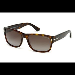 Tom Ford Unisex tortoise TF445 Sunglasses